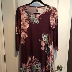 Bellamie floral print dress size S